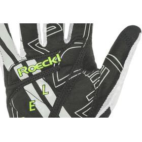 Roeckl Mayo Handschuhe weiß/grün